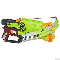 Игрушечное оружие «Hasbro» (A6558) бластер Нёрф Зомби Страйк КроссФайр (Nerf Zombie Strike Cross Fire)