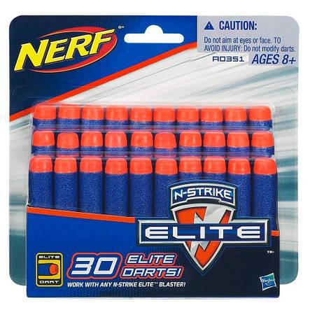 Игрушечное оружие «Hasbro» (A0351) набор патронов Нёрф Н-Страйк Элит (Nerf N-Strike Elite), 30 стрел, фото 2
