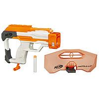 Игрушечное оружие «Hasbro» (B1536) набор Нёрф Модулус СЕТ 3: Искусный защитник (Nerf Modulus Strike and Defend Upgrade Kit)