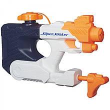 Игрушечное оружие «Hasbro» (B4443) водяной бластер Нёрф Супер Сокер Н2О Волна (Nerf Super Soaker H2Ops Squall
