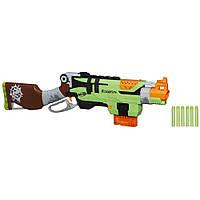Игрушечное оружие «Hasbro» (A6563) бластер Нёрф Зомби Страйк Слингфайр (Nerf Zombie Strike SlingFire)