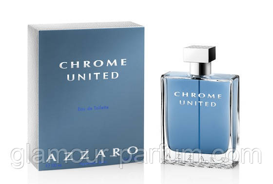 Мужская туалетная вода Azzaro Chrome United (Аззаро Хром Юнайтид)