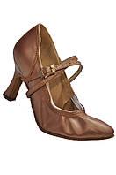 Туфли для танцев  женские Стандарт натуральная кожа.
