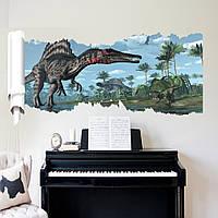 """Фотообои на стену виниловые, виниловая наклейка """"Динозавр"""""""