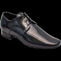 Туфли танцевальные для мальчиков Стандарт натуральная кожа, лак р 26-41.