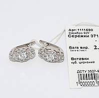 Серебряные серьги 1111690