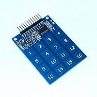 Ємнісна сенсорна клавіатура 16 клавіш TTP229