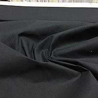 Бязь однотонная чёрная ширина 150 см