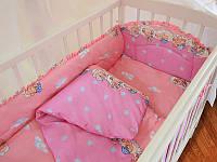 Постельное белье ТЕП  «Медвежонок» розовый Бязь Детский