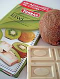 Белый шоколад Torras без сахара Chocolato Blanco con Kiwi (с киви), 75 г, фото 2