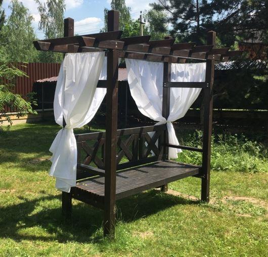 Шторы для пергол, летние уличные шторы