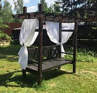 Шторы для пергол, летние уличные шторы, фото 1