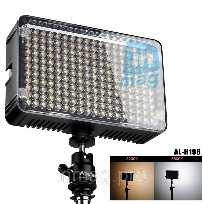 Накамерный светодиодный свет Aputure Amaran AL-H198, 5500K (3200K/филь