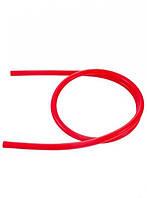 Силиконовый шланг для кальяна - красный цвет 1.5 метра