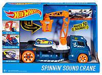 Эвакуатор Hot Wheels со звуковыми и световыми эффектами, грузовик Хот Вилс DJC70 DJC69