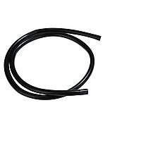 Силиконовый шланг для кальяна - черный цвет 1.5 метра