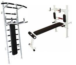 Шведская стенка спортивная Fitness Pro m.2(белая)