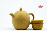 Чайник + 2 пиалы, исинская глины R7, 230мл., фото 1
