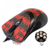 Мышь игровая A4 Tech F7 (V-Track, с грузиками) USB Snake