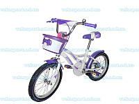 Детский велосипед для девочки Azimut Kiddy (18 дюймов)