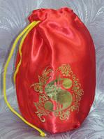 Свадебный мешочек для денег и подарков