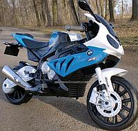 Мотоцикл детский JT 528E-2 BMW/БМВ, EVA колёса, синий
