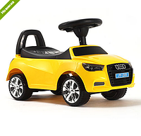 Каталка-толокар Bambi 3147A-6 Audi(ауди),желтая