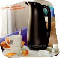 Термокувшин VIP кувшин 1л сервировочный термос с ситом вставкой для чая Tupperware элегантный практичный подар