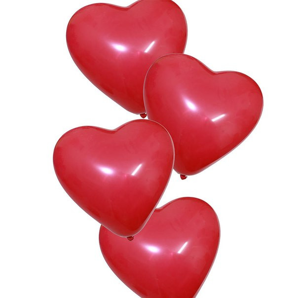 """Гелиевые шары в форме сердца 10"""" в Николаеве"""