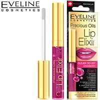 Eveline - Lip Elixir Масло-блеск для губ 8в1 cranberry (клюква)