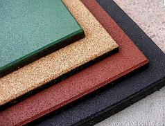 Резиновое покрытие для детских площадок 500х500 Ecoguma Standard