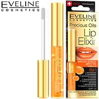 Eveline - Lip Elixir Масло-блеск для губ 8в1 vanilla (ваниль)