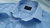 Рубашка Marks & Spencer (M&S) полоску М 15.5 Котон