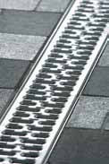 Решетка с прорезями 50см., А15, оцинкованная сталь, для каналов V 100 крепления DRAINLOCK