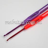 Крючок для вязания, 3 мм,  цветной