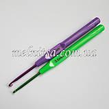 Крючок для вязания, 3,5 мм,  цветной, фото 2