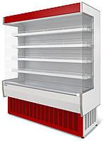 Витрина холодильная среднетемпературная  пристенная  ВХСп-1,25 Нова
