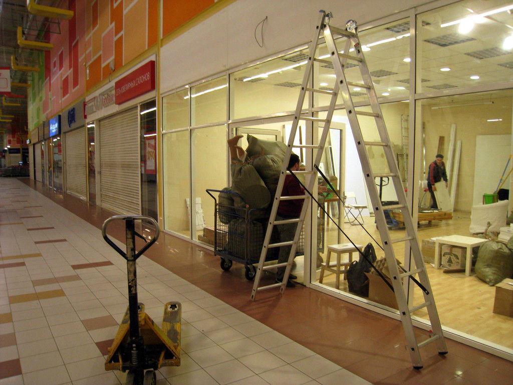 Переезд магазина в Луганске и области