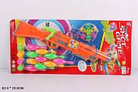 Ружье с шариками 648G 976524 36шт2 кегли для боулинга, шарики