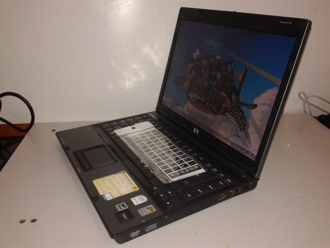 HP 6910p 2ядра 2Gb корпус магний(металл)