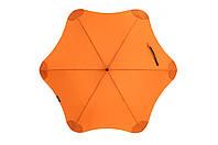 Зонт BLUNT Classic Orange оранжевый полиэстер 6 спиц механика Диаметр купола 1200 мм Новая Зеландия