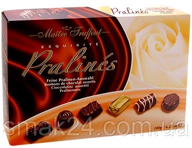 Конфеты шоколадные  Ассорти Пралине Maitre Truffout Австрия 400г