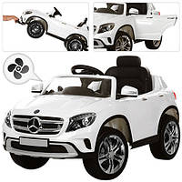 Детский джип 653BR-1 Mercedes Benz с КОНДИЦИОНЕРОМ, белый