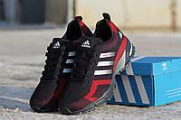 Мужские кроссовки Adidas Marathon Flyknit Blue/Red