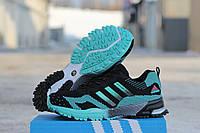 Мужские кроссовки Adidas Marathon Flyknit Black/Mint