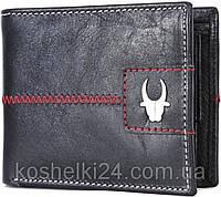 Мужской  кошелек из натуральной кожи WildHorn