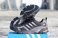 Мужские кроссовки Adidas Marathon Flyknit Black/Gray