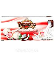 Конфеты кокосовые Papagena (вафельные шарики в кокосе с клубничным кремом внутри) Австрия 120г