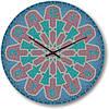 """Большие настенные часы """"Мозаичный узор"""" (450мм) [Стекло, Открытые]"""