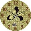 """Часы настенные """"Бантовая аппликация"""" (300мм) [Стекло, Открытые]"""